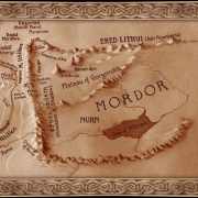 Mapa de Mordor