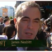James Nesbitt en la alfombra roja