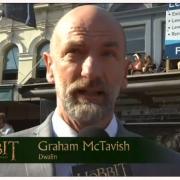 Graham McTavish en la alfombra roja