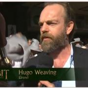 Hugo Weaving en la alfombra roja