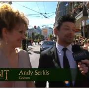 Andy Serkis en la alfombra roja