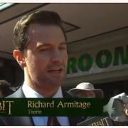 Richard Armitage en la alfombra roja