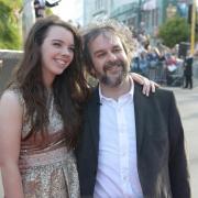 Peter Jackson y su hija Katie