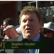 Stephen Hunter en la alfombra roja