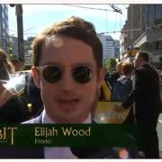 Elijah Wood en la alfombra roja