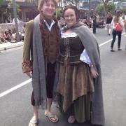 Los Hobbits tomaron Wellington