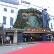 El cine Embassy preparado