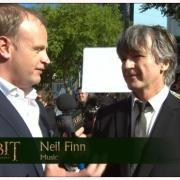 Neil Finn en la alfombra roja