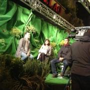 El equipo de Antena 3 en la premiere