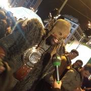 Uno de los fans entrevistado