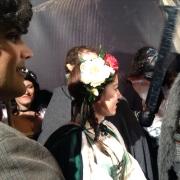 Fans en la premiere de El Hobbit en Madrid