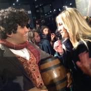 Marta Simonet entrevista a un fan
