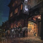 Los Hobbits llegan al Poney Pisador