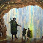 Faramir, Frodo y Sam en Henneth Annûn