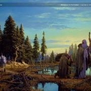 Gandalf, Galadriel y los demás alcanzan a Saruman