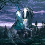 Gandalf y Sombragrís