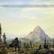 Thráin y la montaña solitaria