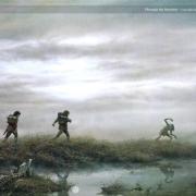 Frodo, Sam y Gollum en las Cienagas de los Muertos