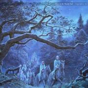Elfos en el Bosque Cerrado