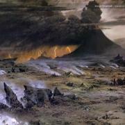 Frodo y Sam atraviesan Gorgoroth
