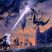 Gandalf aleja a los Nazgûl