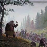 Los Hombres Salvajes guían a los Rohirrim