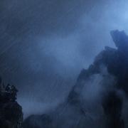 Uno de los Gigantes de Piedra, furioso