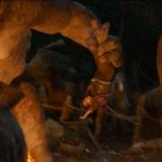Los Trolls apresan al pobre Bilbo