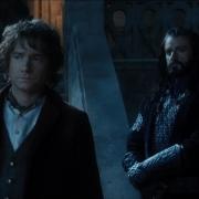 Bilbo y Thorin en Rivendel