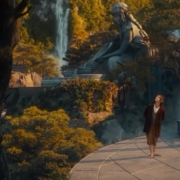 Bilbo sigue explorando Rivendel