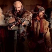 Gandalf, Bilbo y los Enanos