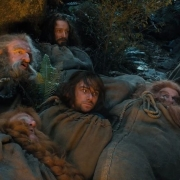 Bombur, Óin, Thorin, Kili, Glóin y Balin