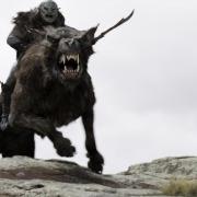 Un jinete de wargo de El Hobbit (HD)