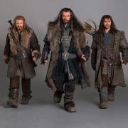 Fili, Thorin Escudo de Roble y Kili
