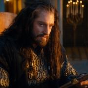 Thorin con Orcrist en Rivendel
