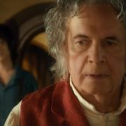 Frodo y Bilbo
