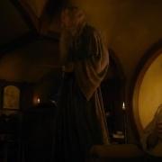Gandalf y Bilbo en Bolsón Cerrado