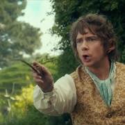 Bilbo, fumando en Bolsón Cerrado