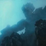 Un amenazador Gigante de Piedra
