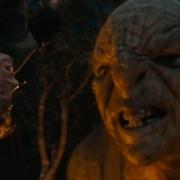 Bilbo, capturado por un Troll