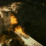 Valle, atacada por Smaug