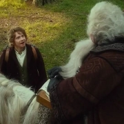 Bilbo se une a la compañía de Thorin