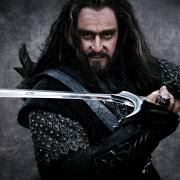Thorin Escudo de Roble con Orcrist