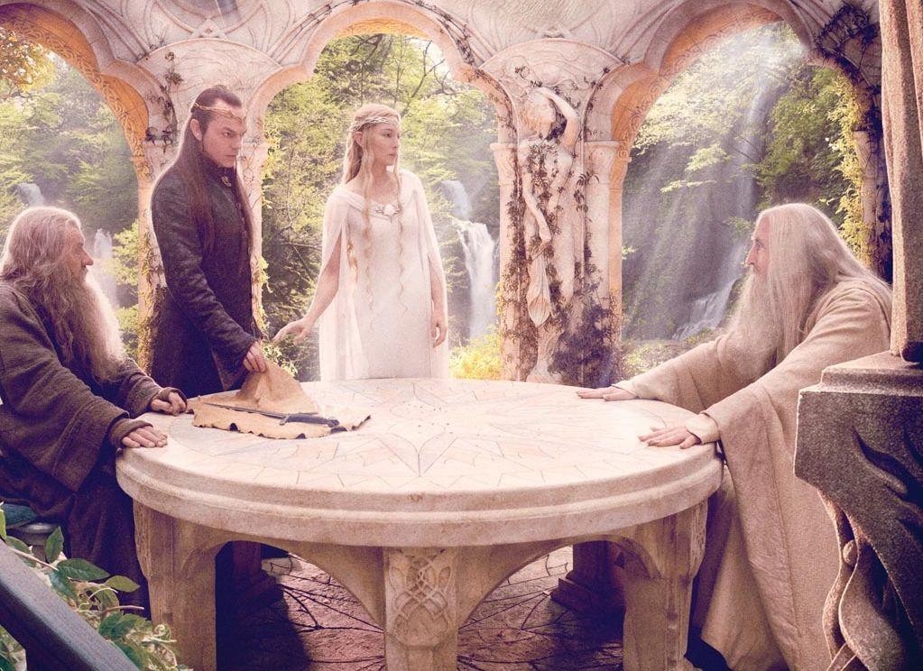 ÉPICO ORDEN - Consejo de Sabios de Heine Hobbit-set160