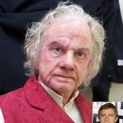 Martin Freeman como el anciano Bilbo