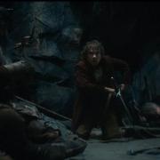Bilbo, aterrorizado