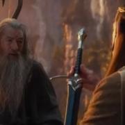 Gandalf y Elrond en Rivendel