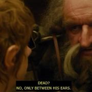 Óin respondea Bilbo