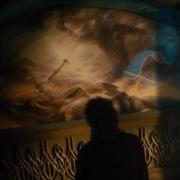 Bilbo contempla el fresco