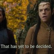 Lindir y Elrond